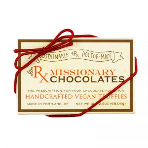 Missionary Chocolates 2 Piece box of truffles