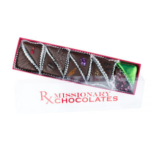 Missionary Chocolates 5 Piece Sampler