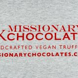 Missionary Chocolates Tee Shirt Back