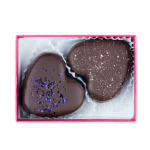 Missionary Chocolates 2 Piece Heart Box