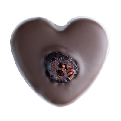 Missionary Chocolates Cranberry Heart Truffle