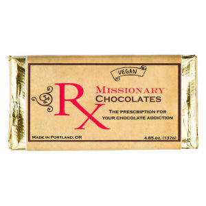 Missionary Chocolates Dark Chocolate Bar
